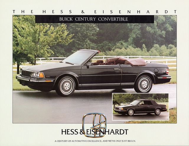 1984 Buick Century Convertible by Hess & Eisenhardt (Custom built)