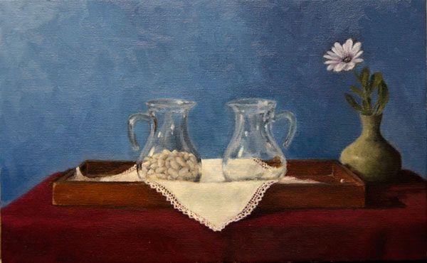 Bean Glass Jars