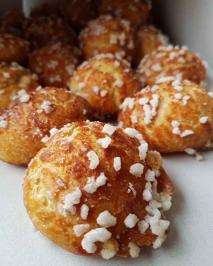 Delicias dulces para desayunar...chouquette