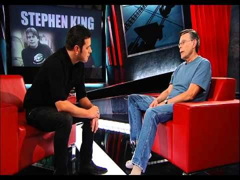 Happy Birthday to brilliant, prolific writer  Stephen King. Here is an interview with George Stroumboulopoulos