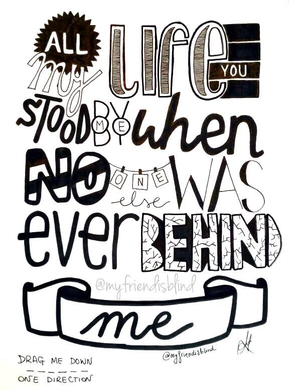 One Direction Drawing Quotes Best 25+ Lyric ...