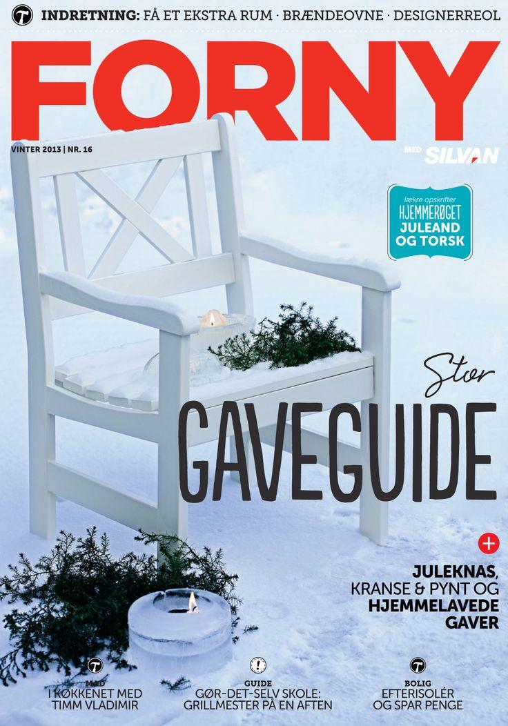 FORNY med Silvan, magasin nummer 16, vinter 2013