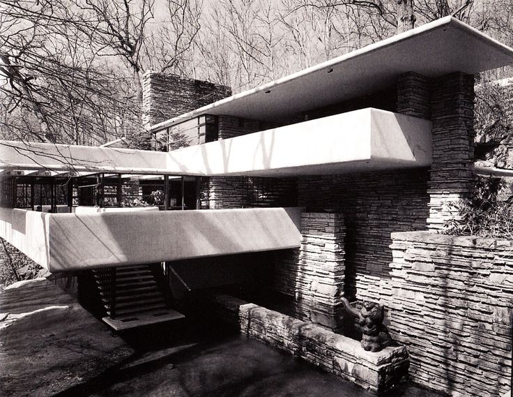402 best images about frank lloyd wright falling water - Frank lloyd wright architecture organique ...
