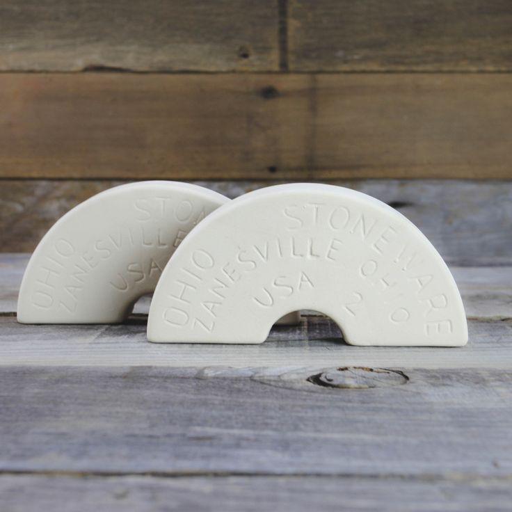 2 Gallon Ohio Stoneware Fermentation Crock Weights - Pickling Supplies