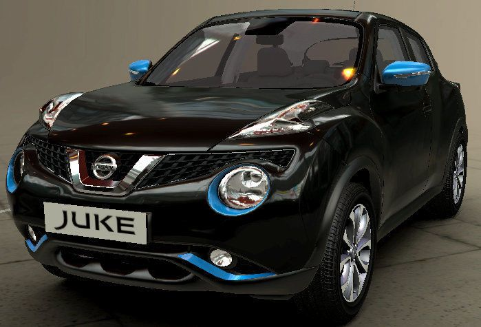 New Nissan Juke Exclusive Exterior Style Pack Zama Blue New Genuine Ke600bv011eb Juke Car