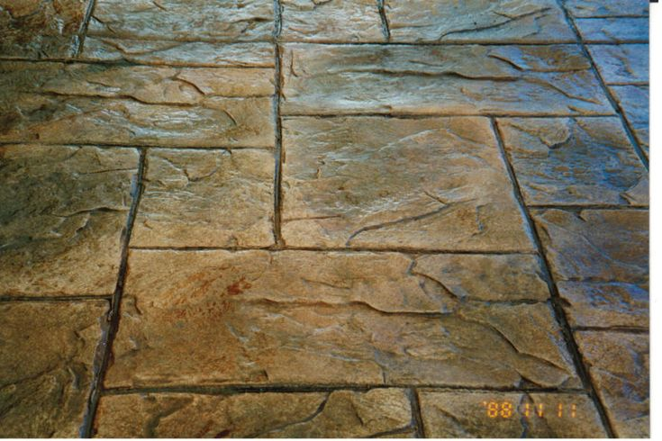 Stamped Concrete Patterns | More information about Stamp Concrete Pattern on the site: http://www ...