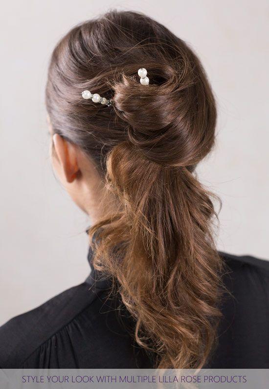Lilla Rose, Tiffany stick, easy hair styles, fun updos, #lillarose, #lillarosesticks, # ...