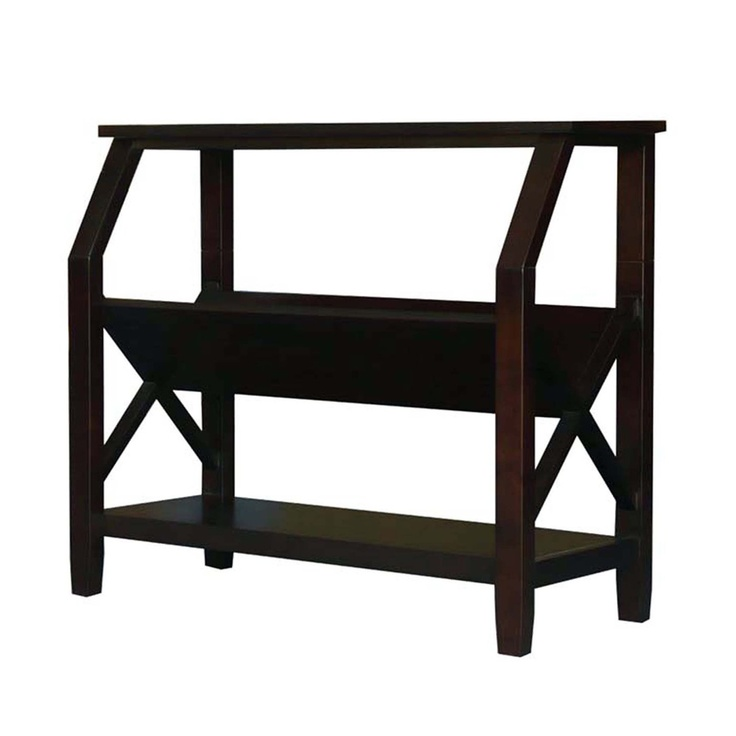 $129.99 The contemporary rustic styling of the Acadian Collection complements and completes any living or great room setting. Whether your décor is traditional or modern the stunning Cross Hatch Bookcase will blend seamlessly into your home.