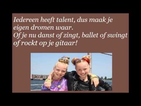 ▶ Glitter & Glamour, Finalisten Junior Songfestival 2013. (LYRICS) - YouTube