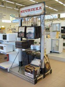 Muurikka / Shop-in-shop stand