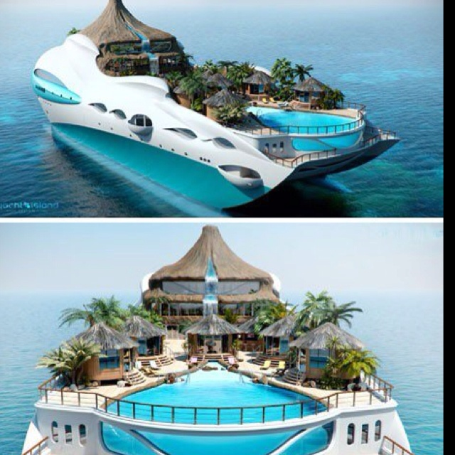 Sweet cruise ship of the future | Dream vacations ...