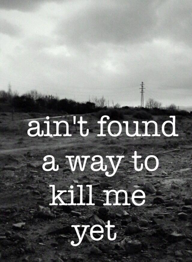 """""""Aint found a way to kill me yet"""" - Rooster by Alice in Chains Leia agora os nossos artigos sobre música grunge em http://mundodemusicas.com/category/grunge/"""