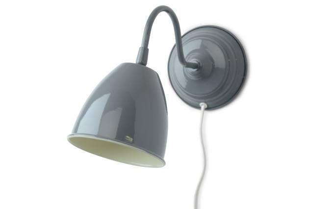Vägglampa Grå - Chilli