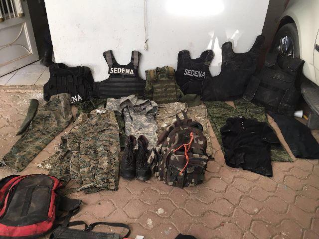 Decomisan arsenal en casa de seguridad que fue ubicada en Cuauhtémoc