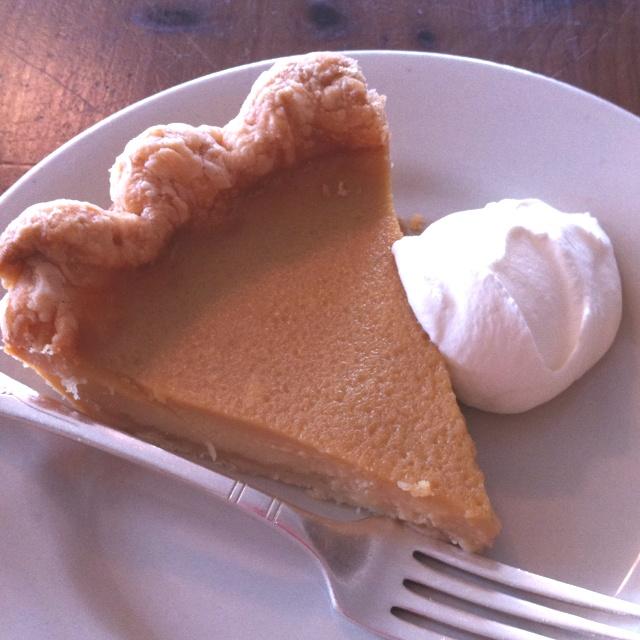 Maple Buttermilk Pie Recipe — Dishmaps