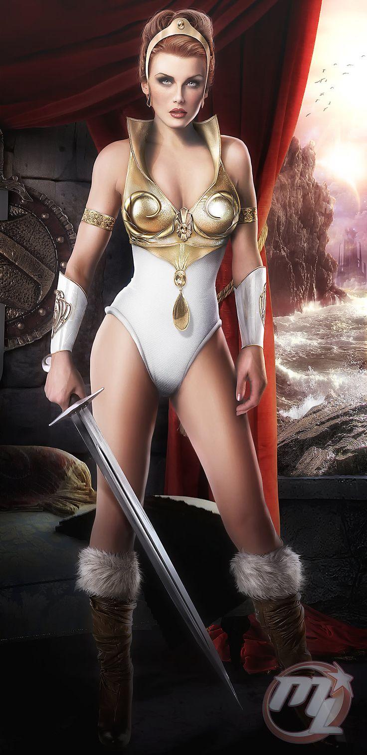Teela from He-man COMMISSION by MLauNeim.deviantart.com on @deviantART