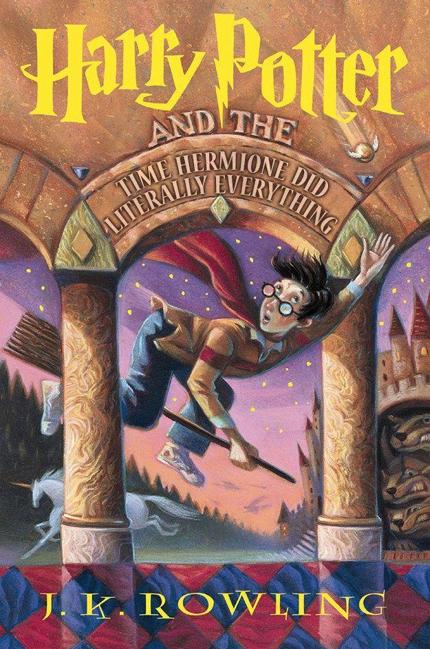 Honest Harry Potter Titles. Lol, Love Them!