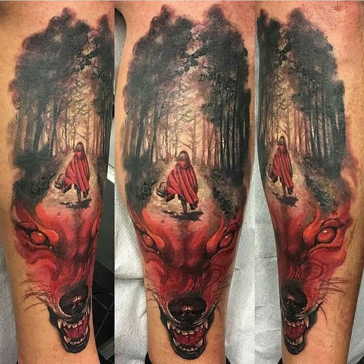 1000 images about old school traditional tattoos on for Red wolf tattoo