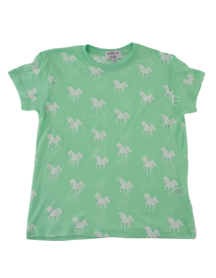Wildfox Green Unicorn Top | Accent Clothing