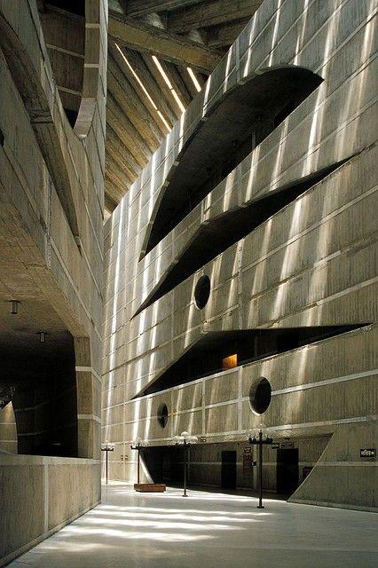 Louis Kahn | National Assembly Building of Bangladesh, 1961-1982, Dhaka, Bangladesh