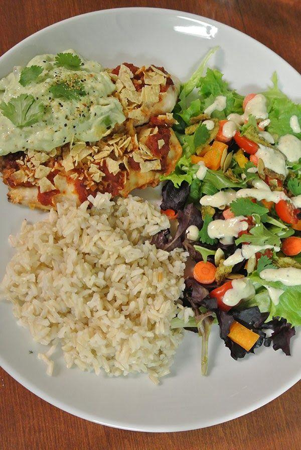 Pina colada, Taco salads and Health and fitness on Pinterest