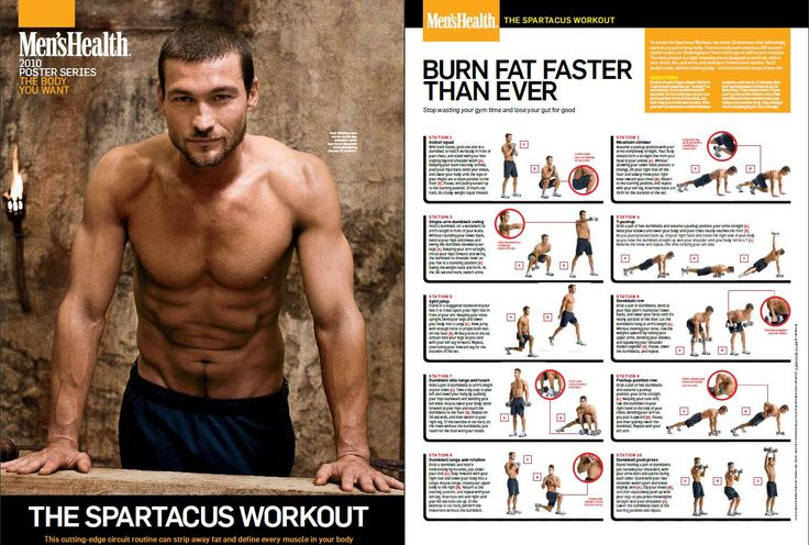 not just for boys - spartacus workout!