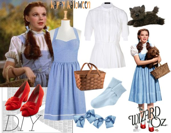 Image result for diy dorthy wizard of oz halloween costume