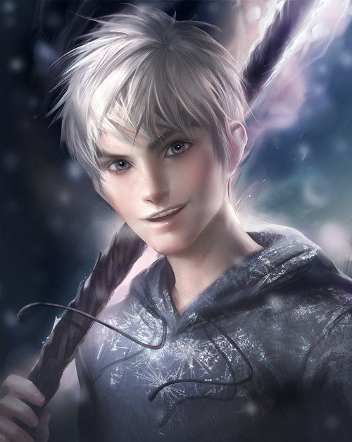 Jack Frost- played by Chris pine. great at this role