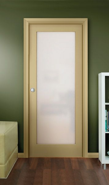 Possible Internal Door (white With Translucent Glass Panels) For The Lounge  Room. Perhaps