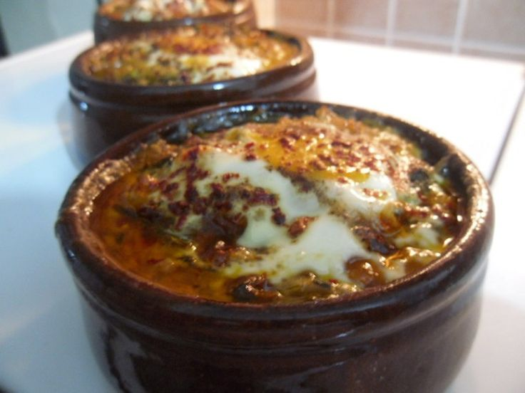 Fırında Yumurtalı Ispanak Tarifi #spinach #spinachwithegg #ıspanak