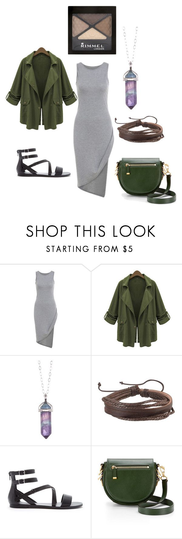 """Casual Plus Size Outfit"" by migalowa on Polyvore featuring Chicnova Fashion, Jami, Zodaca, Forever 21, Rebecca Minkoff, Rimmel, women's clothing, women's fashion, women and female"