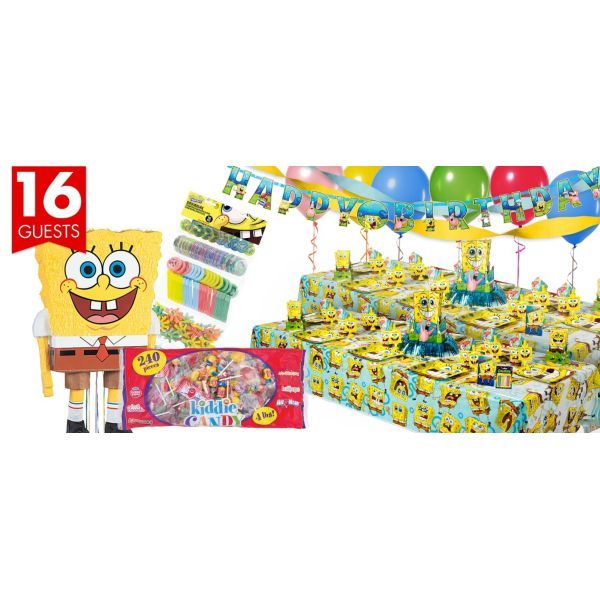 SpongeBob Party Supplies Ultimate Party Kit