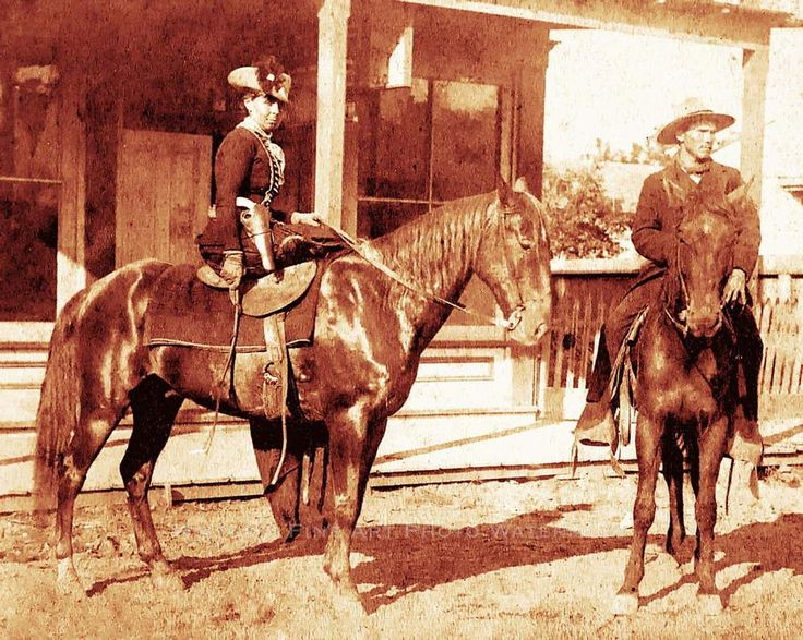 OLD WEST OUTLAW, BELLE STARR, THE BANDIT QUEEN VINTAGE PHOTO c.1880.