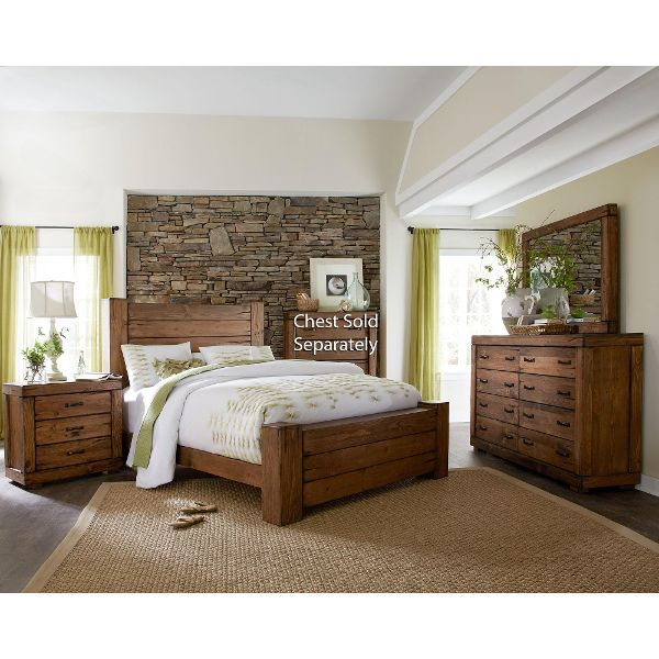 Maverick 6 Piece Queen Bedroom Set