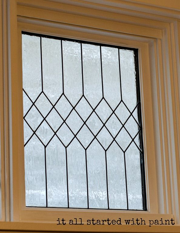 71 best old windows images on pinterest old window frames good faux leaded glass window tutorial planetlyrics Gallery