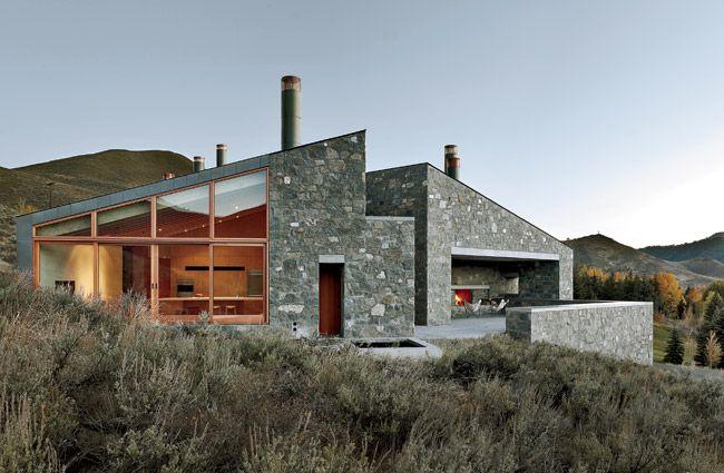 Sun Valley House Rick Joy Architects Sun Valley Idaho
