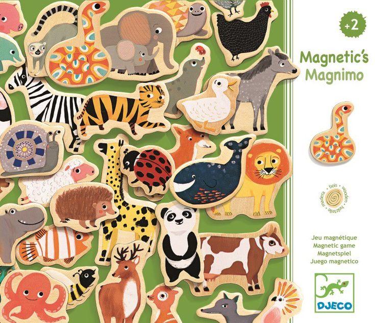 Dřevěné magnetky - magnimo