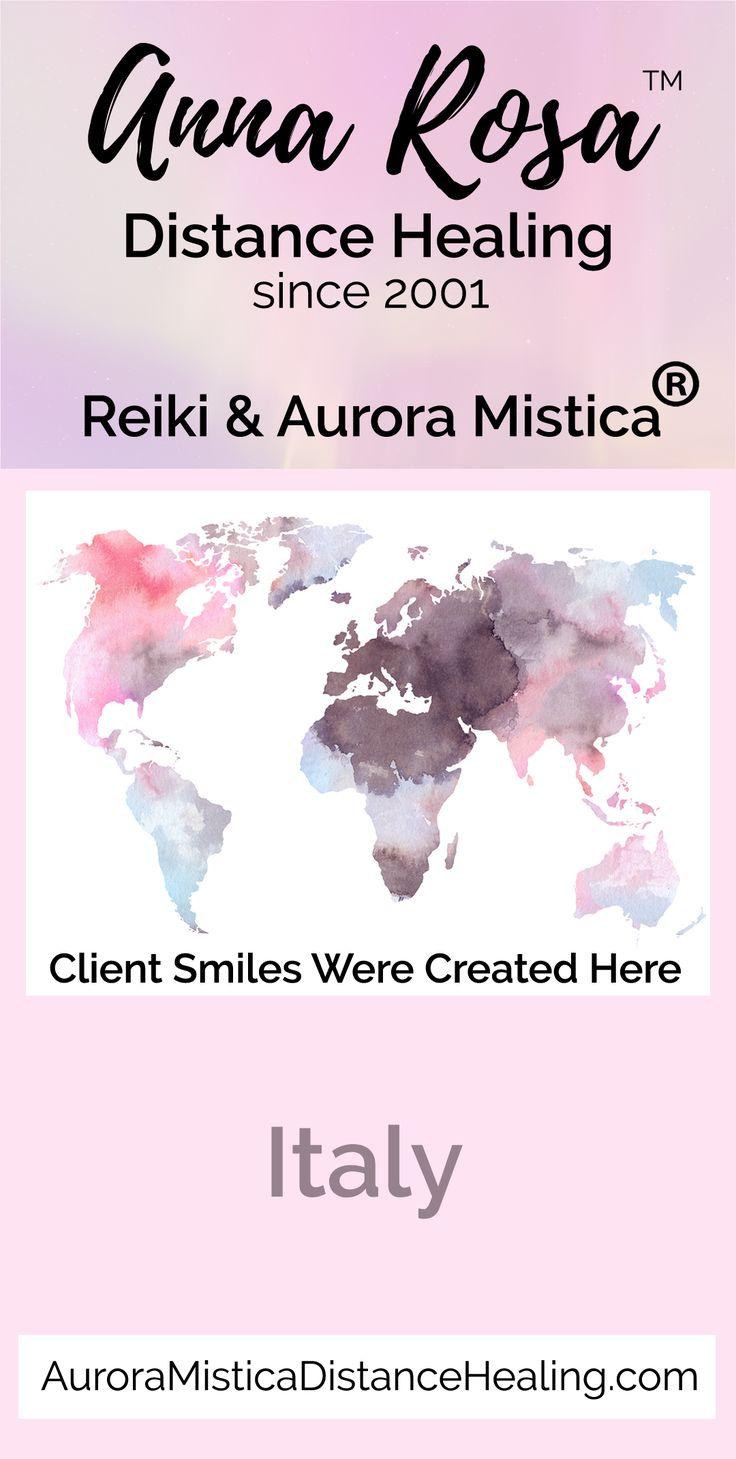 "I am Anna Rosa & I have been providing distance healing services online since 2001.  I am a Usui, Karuna (r), Shamballa & Kundalini Reiki Master. I also have my own registered modality called Aurora Mistica (R).  I truly enjoy helping put ""Smiles Around the World"" :)   #annarosa #smilesaroundtheword #reiki #distancehealing #remotedistancehealing #remotehealing #distanthealing #longdistancehealing #spiritualhealing #reikihealing #reikinearme #Italy"