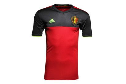 Adidas Belgium EURO 2016 Home Kids S/S Replica Football A bespoke design for the Red Devils, the Belgian flag is the inspiration behind the Belgium EURO 2016 Kids Home S/S Replica Football Shirt.Made from recycled polyester, adidas apply their performance  http://www.MightGet.com/february-2017-2/adidas-belgium-euro-2016-home-kids-s-s-replica-football.asp