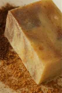 Handmade, all natural...Cinnamon Clove Soap; From the Forest Grove Soap Company.  Awesome.