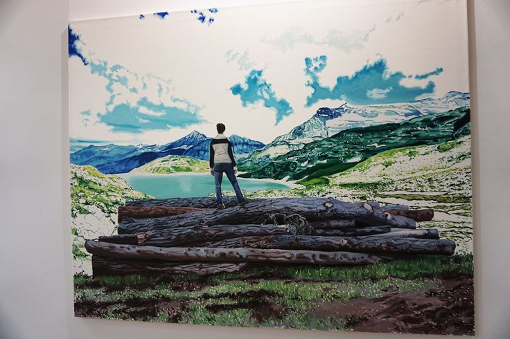 """Mañana y tarde"" de Irene Sánchez Moreno. #Exposición ""La savia seca"" Galería Cámara Oscura #CámaraOscura #Madrid #Arte #Artecontemporáneo #ContemporaryArt #Arterecord 2016 https://twitter.com/arterecord"