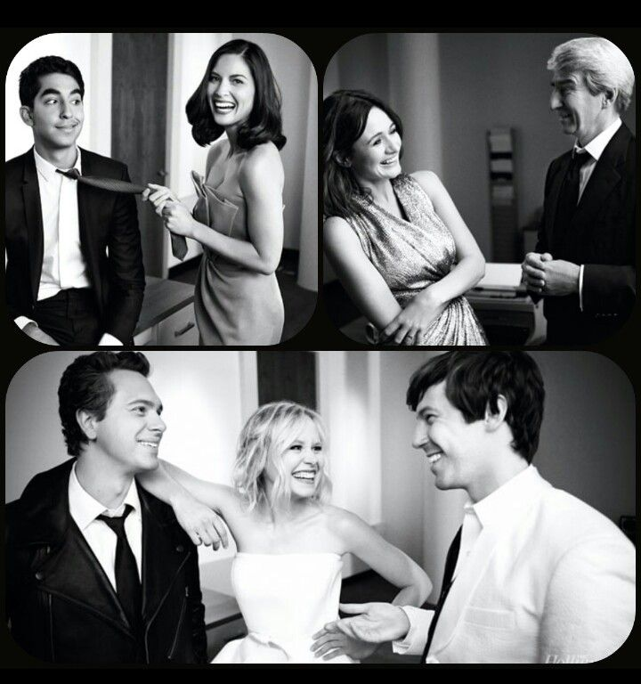 The Newsroom Cast. Beautiful (Olivia Munn and Thomas Sadowski in particular)