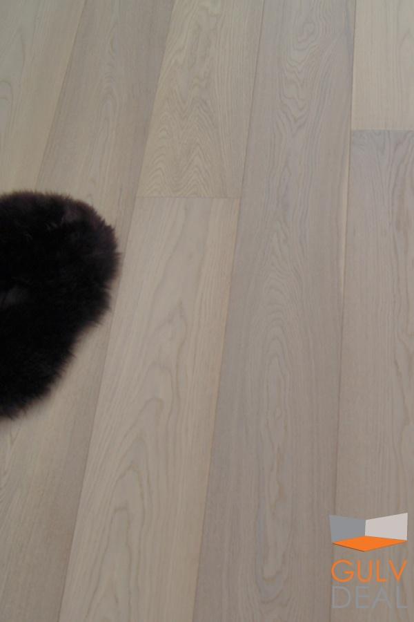 """GULVDEAL- parkett """"White Polar"""" fra Nordic FloorCollection"""