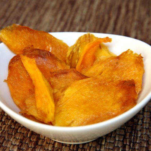 How to make dried mango - you just need a mango, an oven, and a Silpat silicon mat!