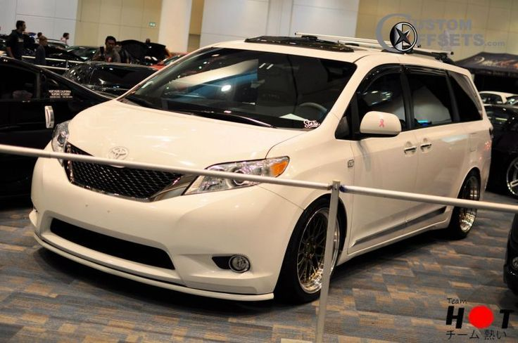2011 Toyota Sienna. Lowered on rims. Minivans can be