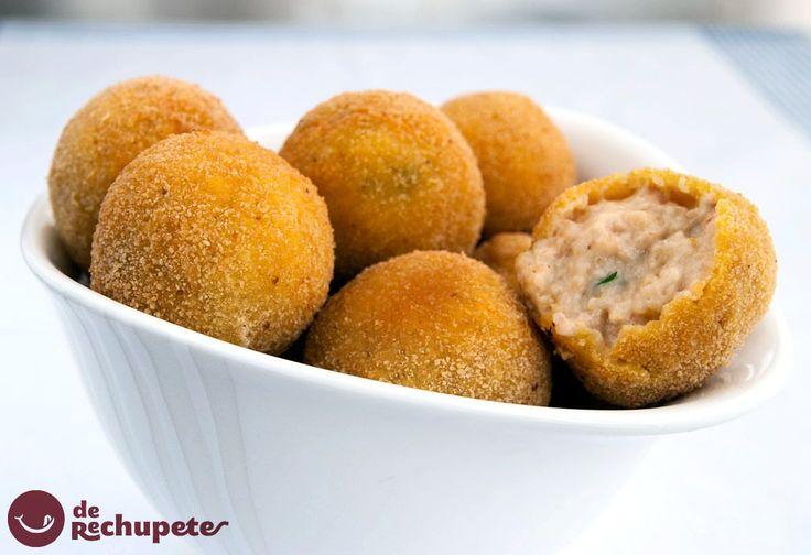No se si las habéis probado alguna vez, ...croquetas de gambas, deliciosas! http://www.recetasderechupete.com/croquetas-de-gambas/12486/ #receta #croquetas