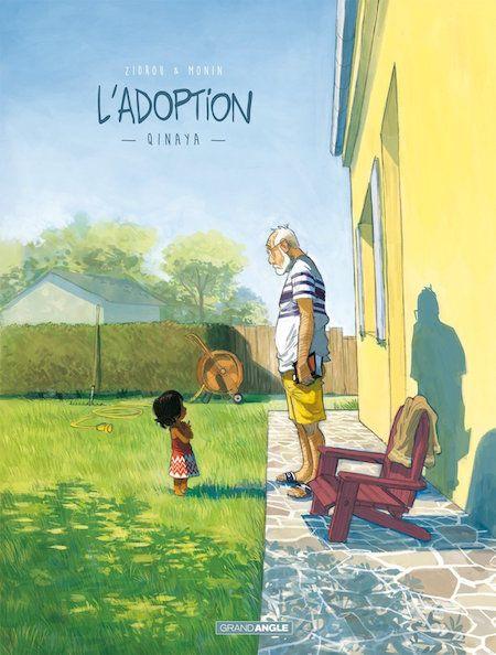 L'Adoption, Tome 1 : une BD de Zidrou et Monin (Grand Angle)