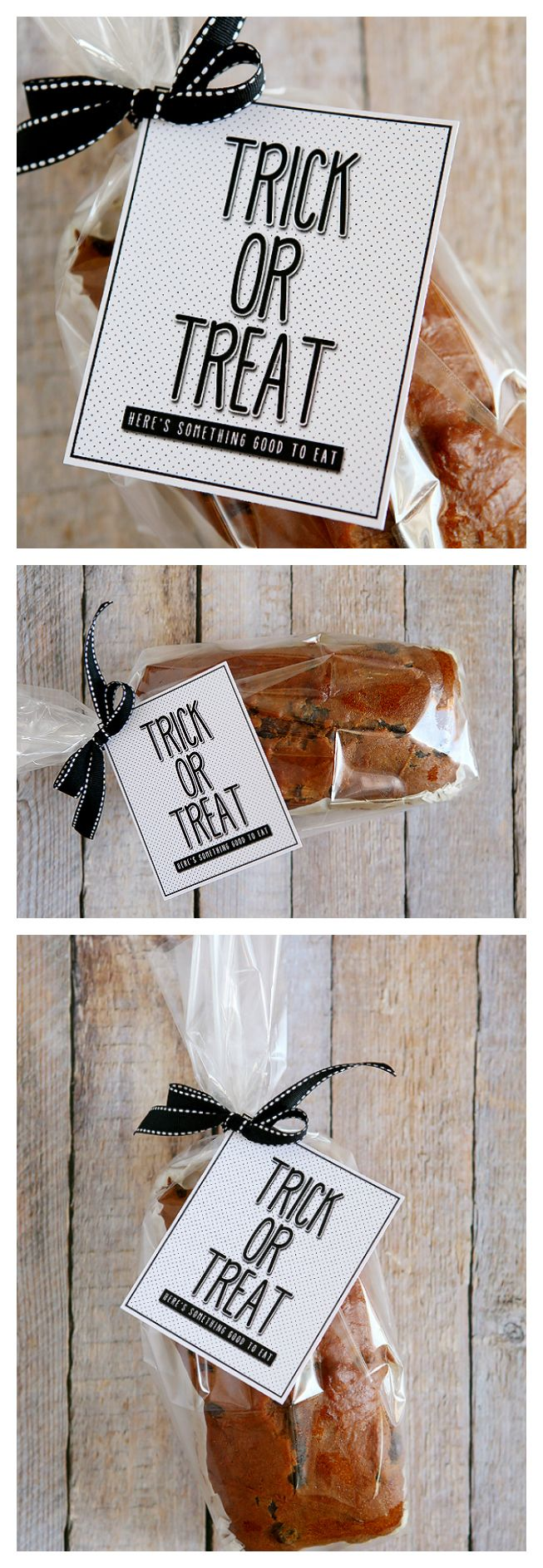 Trick or Treat - Here's Something Good To Eat | Free Printable Halloween Tags