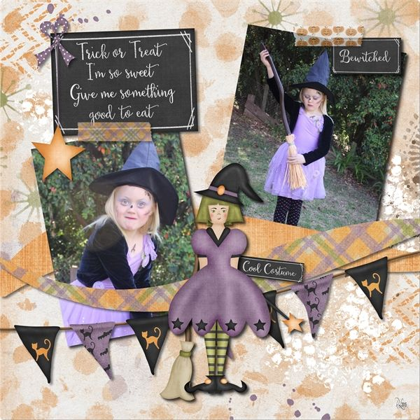 Trick or Treatin by LouCee Creations available at Pickleberrypop $1 per piece for a limited time or buy the 6 pack and get FREE matching journal cards https://www.pickleberrypop.com/shop/product.php?productid=40509&page=1 Week 36 FREE template by Jumpstart Designs (part of template set 69) https://www.facebook.com/JumpstartDesignsForArtisanorCreativeMemories?fref=ts