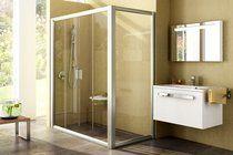 Uşi de duş cu pereţi ficşi Rapier NRDP4 + RPS - RAVAK RO